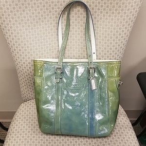 Patent Leather Coach Purse
